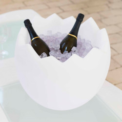 Seau à Champagne Kalimera, Slide Design Blanc