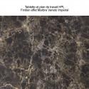 Etagère Cordiale, HPL effet Veneto Impérial, pour module droit de bar Cordiale, Slide Design
