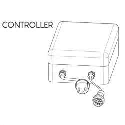 Controller Led RGBW Dublin, pilote jusqu'à 10 modules de bar Dublin