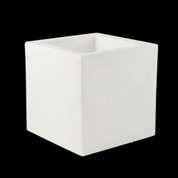 Pot Cube lumineux Leds Blancs, 50x50x50 cm, Vondom