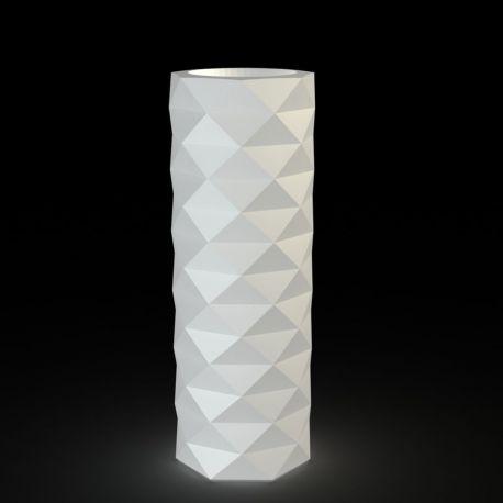 Pot diamant Marquis lumineux Leds blancs diamètre 30 cm x hauteur 82 cm, Vondom