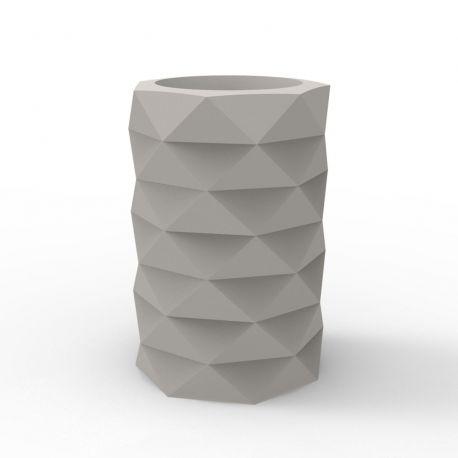 Pot de Jardin Marquis diamètre 40 cm x hauteur 60 cm, Vondom taupe Mat
