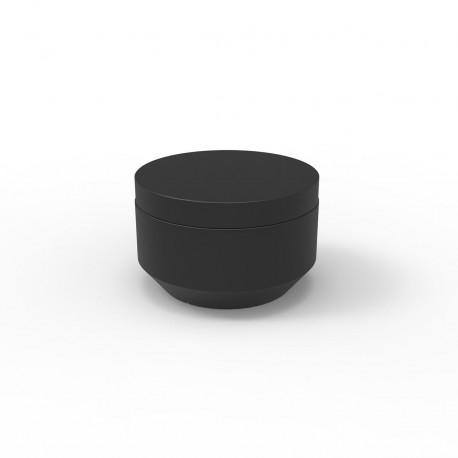 Pouf rond Vela Chill diamètre 60cm, Vondom noir