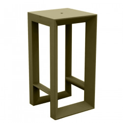 Table haute Frame, Vondom kaki