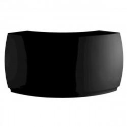 Bar Design Fiesta, module courbe 160x160xH115cm, Vondom, Noir