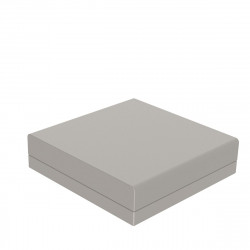 Pouf canapé outdoor design Pixel, Vondom, tissu Silvertex Taupe