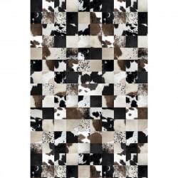 Tapis vinyle mosaïque rectangulaire, 198x285cm, collection Baba Souk, Pôdevache