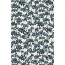 Tapis vinyle palmiers rectangulaire, 198x285cm, collection Paradisio, Pôdevache
