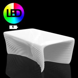 Table basse Biophilia Lumineuse Led RGBW à batterie, Vondom