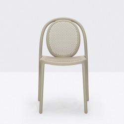 Lot de 4 chaises Remind 3730, Pedrali, sable