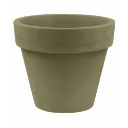 Pot Maceta diamètre 80 x hauteur 69 cm, simple paroi, Vondom kaki