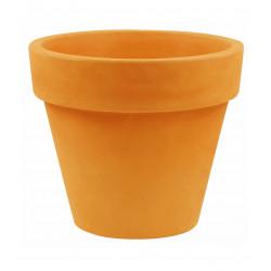 Pot Maceta diamètre 160 x hauteur 138 cm, simple paroi, Vondom orange