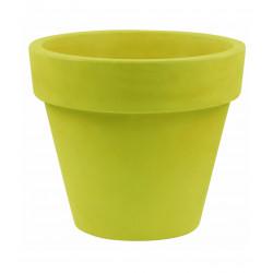 Pot Maceta diamètre 160 x hauteur 138 cm, simple paroi, Vondom vert pistache