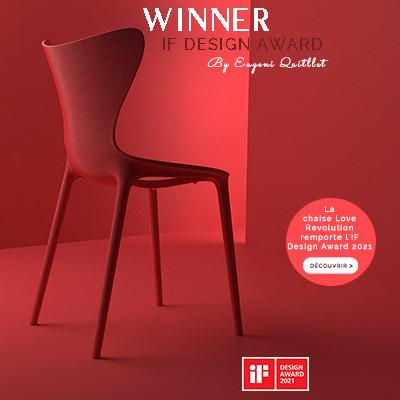 Découvrez la collection Love, désignée Winner aux IF Award Design 2021
